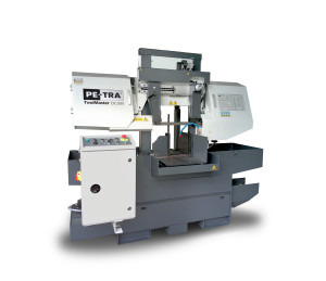 DC300 is semi automatic, high performance Band Saw Machine for cutting pieces of up to 300 x 300 mm. It is engineered for metal cutting task where there is no need for large scale automated cutting and flexibility for ad-hoc cuts is preferred such as in tool shops. Every engineering detail was carefully studied and benchmarked against the competition in its class. The machine is designed, built and certified for high speed cutting with Carbide blades and for optimal use of bi-metal blades throughout its full cutting range. Fully enclosed cabinet provides adherence to most stricken CE norms...