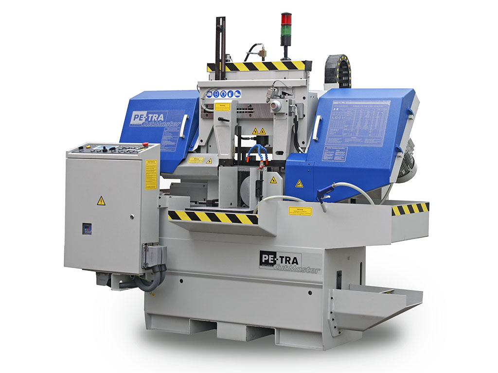 PETRA Band saw machine DC300 INSERT is design for Automobile steel castings. This particular component is high in Ni and Cr and very tough to cut.  It is deigned to cut two components simultaneously, with the facility if auto disposal of the scrap produced in to the separate bin.