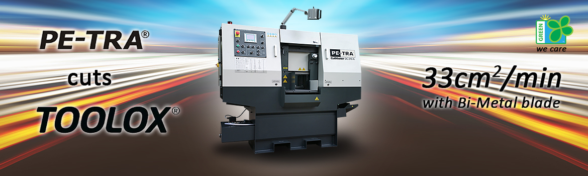 PETRA Band Saw Machines cuts TOOLOX